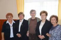 Dr. Trencsényi Erzsébet, Dr. Oláh Erzsébet, Végh Istvánné és Fodor Józsefné
