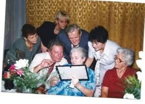 Bolgár Istvánné, volt gazdasági nővér nyugdíjas búcsúztatóján