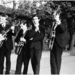 Slamóék 1966-ban a 105-ös zenekaraként – Ózdon
