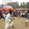 ঘিওরে বিজয় মেলায় ঐতিহ্যবাহী 'লাঠি খেলা ' অনুষ্ঠিত
