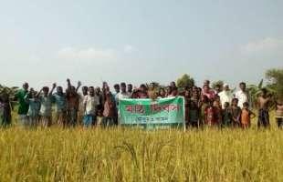 কাবুন্দুলান'র দোলায় গাছগড়িয়ার কৃষকরা