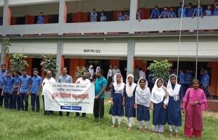 নারী নির্যাতনরোধে একযোগে কাজ করার প্রত্যয় ব্যক্ত করলেন শিক্ষার্থী-শিক্ষক