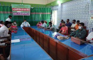 ঘূর্ণিঝড় আপফান মোকাবেলায় শ্যামনগরের বুড়িগোয়ালিনীতে কন্ট্রোল রুম খোলাসহ নানান প্রস্তুতি: