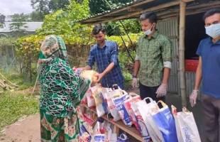করোনার মহামারিতে 'হৃদয়ে কেন্দুয়া যুব সংগঠন'র উদ্যোগসমূহ