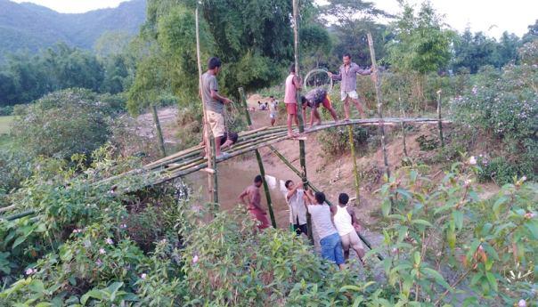 চন্দ্রডিঙ্গা গ্রামের যুবদের উদ্যোগ