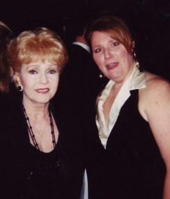 Felicia Barlow Clar With Debbie Reynolds