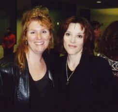 Felicia Barlow Clar With Marianne Williamson