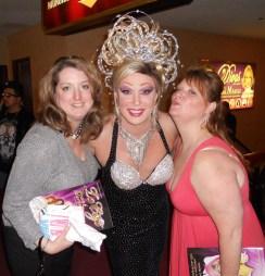Felicia Barlow Clar With Frank Marino in Las Vegas