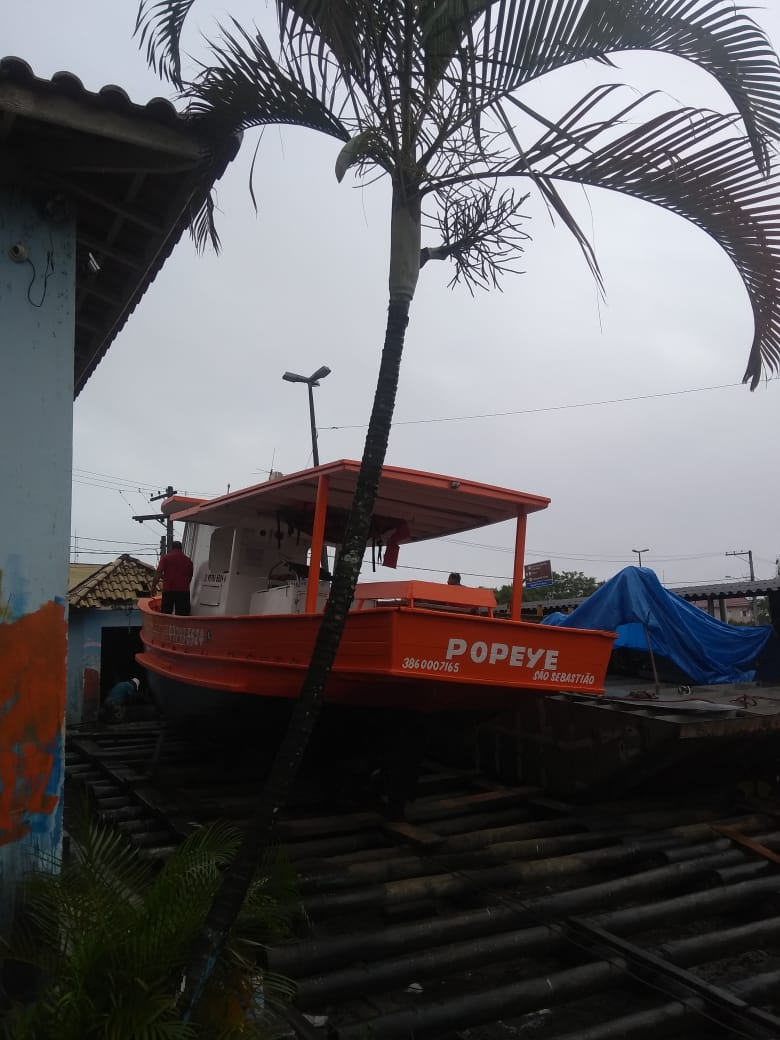 barco Popeye sao sebastiao pescaria