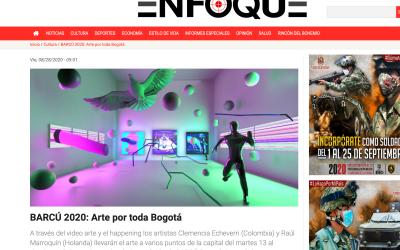 BARCÚ 2020: Arte por toda Bogotá