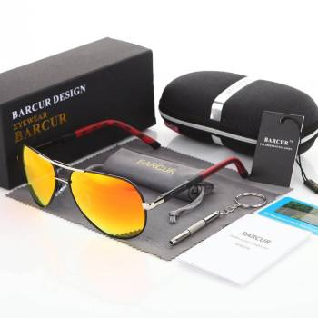 BARCUR Men Sunglasses Brand Original HD Polarized BC8725 Sunglasses for Men