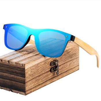 BARCUR Fashion Wooden Sunglasses BC4125 Sunglasses for Men Sunglasses for Women Wooden Sunglasses