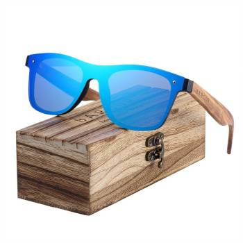 BARCUR Trending Styles Rimless Wooden Sunglasses Men Square Frame Women Sun Glasses BC4126 Sunglasses for Men Sunglasses for Women Wooden Sunglasses