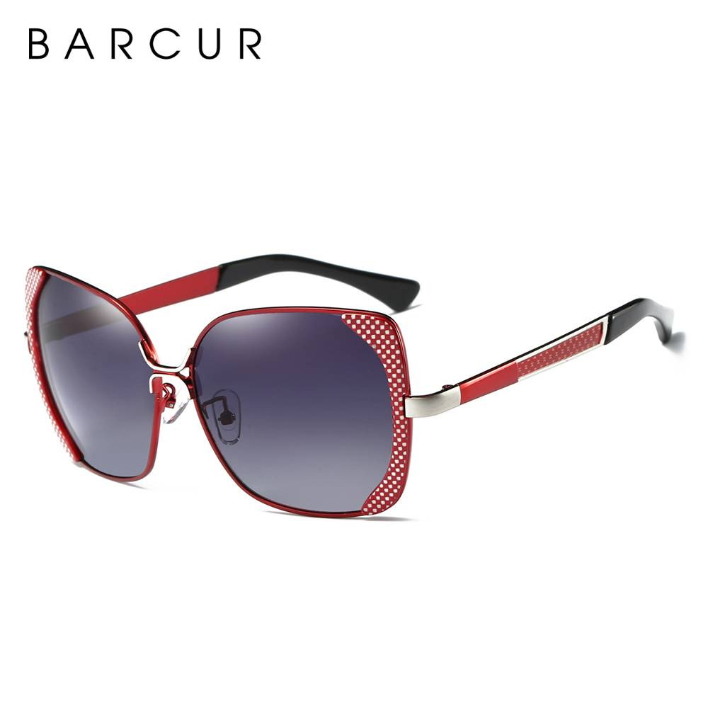 BARCUR Luxury Brand Polarized Sunglasses Women shades BC6238 Sunglasses for Women