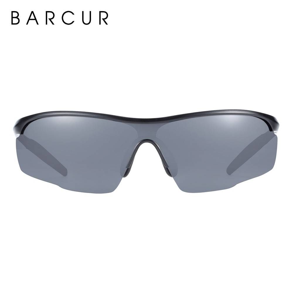 BARCUR Sports Aluminum Magnesium Men Sunglasses Women Polarized Anti-Reflective BC8583 Sunglasses for Men Aluminium Sunglasses Sunglasses for Women