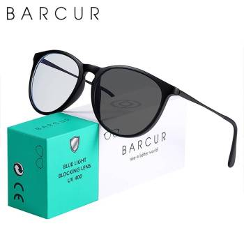 BARCUR Photochromic Anti Blue Light Computer Glasses Frame Men Women 2021 Sunglasses for Men Anti Blue Ray Glasses Sunglasses for Women