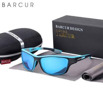 BARCUR Sport TR90 Sunglasses Driving Men Polarized Women Fashion UV400 Sunglasses for Men TR90 Material Sunglasses