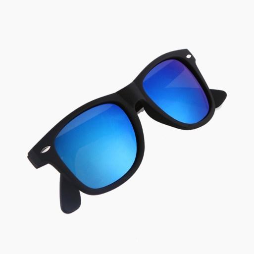 BARCUR - Γυαλιά Ηλίου Active Matte Black Σκελετός & Dark Blue Φακός Polarized (2140)