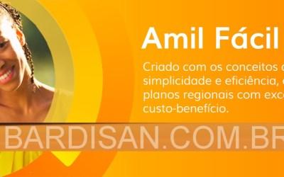 Amil Fácil Empresarial a partir de R$ 108,17 por pessoa 0 (0)