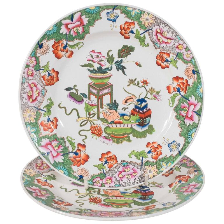 $1800.00  sc 1 st  Bardith & Spode Dessert Plates with Chinoiserie Motif | Set of 10 -- Bardith Ltd.