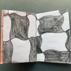 CAMPers making their Tessellations Zine