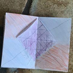 CAMPer's art work in Grace's class