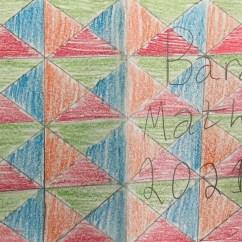 Student's Art Work in Art Class