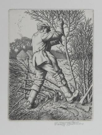 Stanley Anderson, Hedge Laying