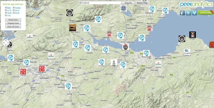 Beer In Scotland: Interactive Beer Map (1/2)
