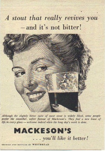 Beer Nostalgia: 1952 Mackeson Stout
