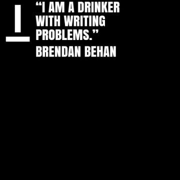 Poesía en imágenes en Bardulias: Brendan Behan