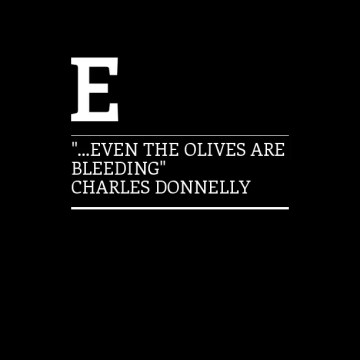 Poesía en imágenes en Bardulias: Charles Donnelly