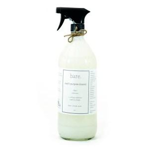 multi purpose cleaner - 32 oz - bare. cleaning essentials