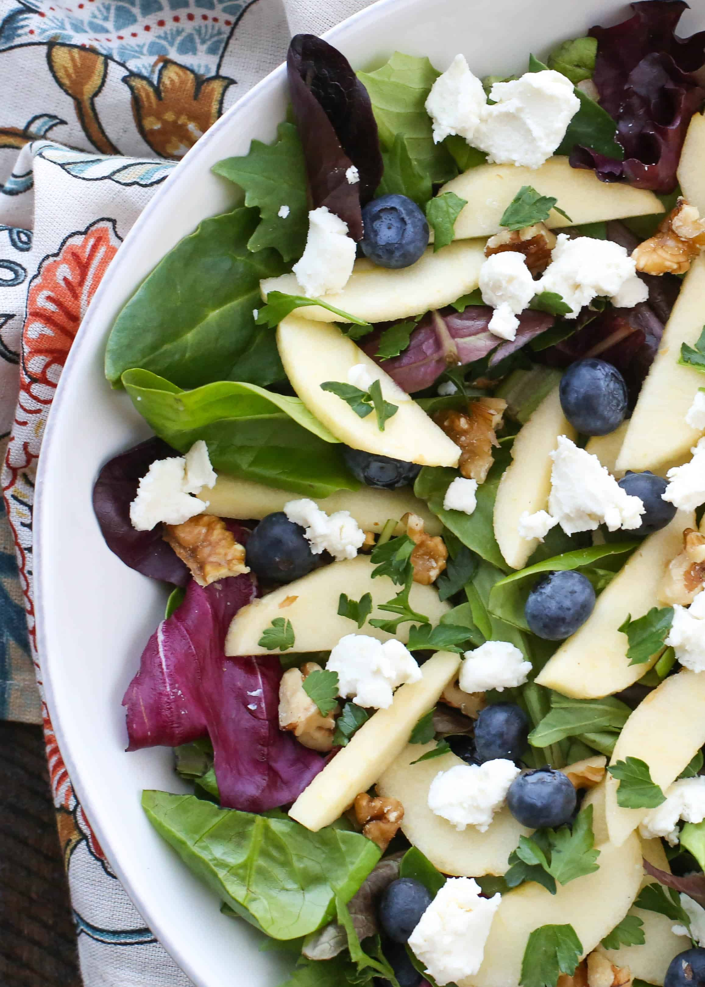 Gorgonzola Cheese And Apple Salad