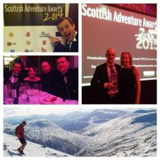 Fantastic night at the Scottish Adventure Awards Evening