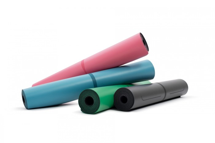 liforme yoga mat available at barefoot in spring lake nj