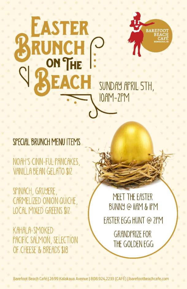 Easter Brunch on the Beach 040515_Flyer 8.5x11