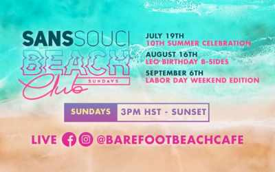 Sans Souci Beach Club// Summer Events