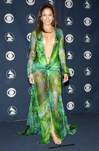 Jennifer Lopez Versace dress