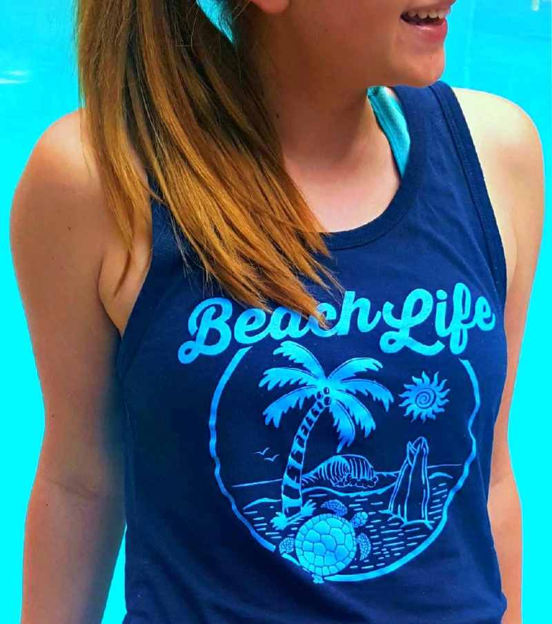 Unisex Beach Life Tank