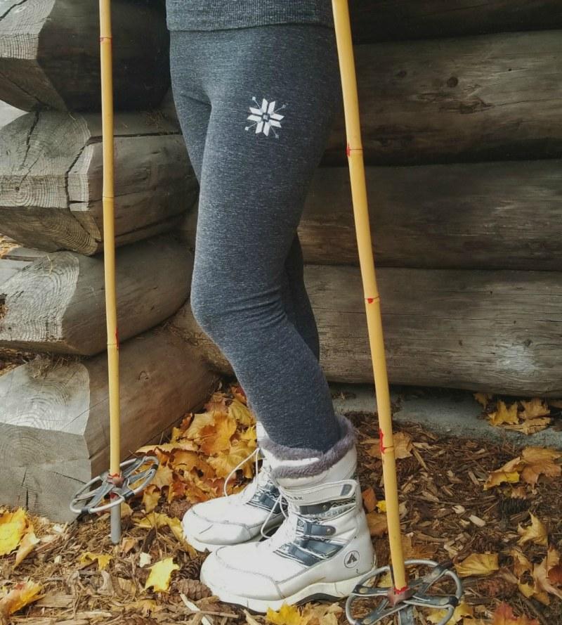 Nordic Snowflake Leggings