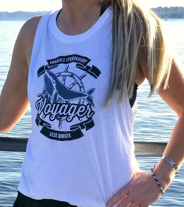 Women's Voyager Organic Cotton/Bamboo Muscle Tee