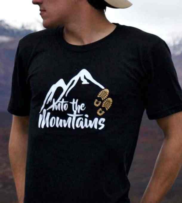 Into the mountain Shop Page