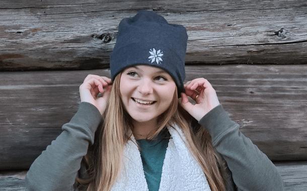 Nordic Snowflake Beanie