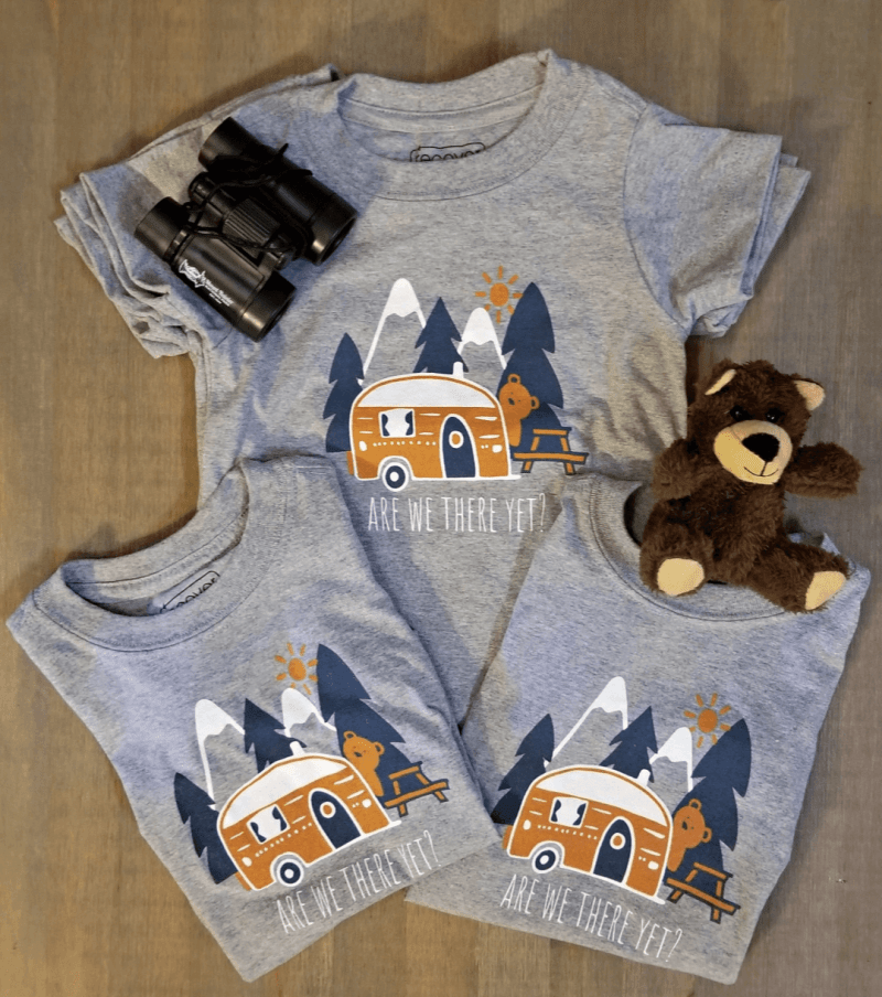 Are we There Yet Toddler Tees