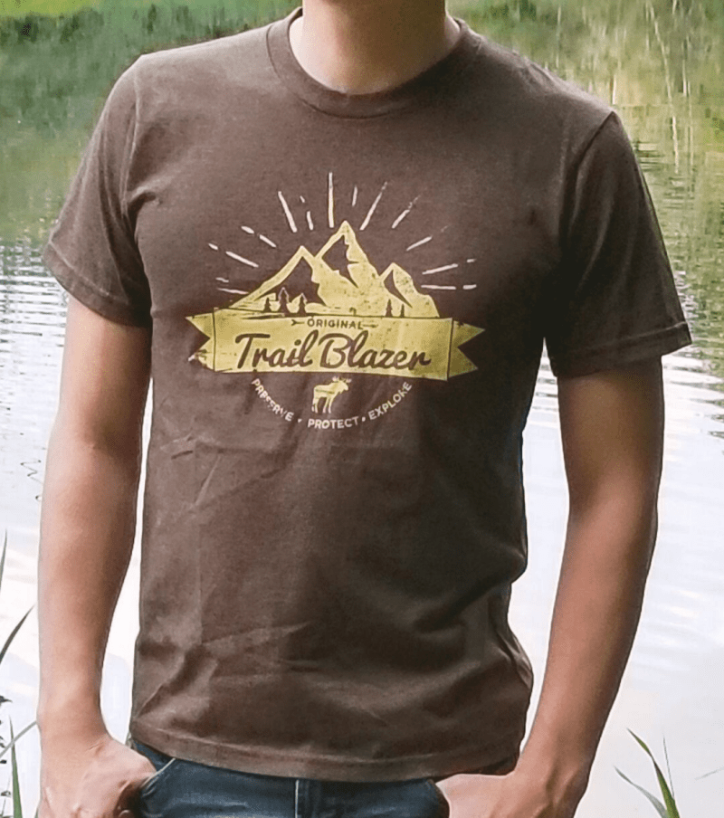 Trail Blazer Brown Tee