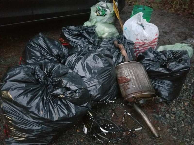 Bear Creek Trash Cleanup
