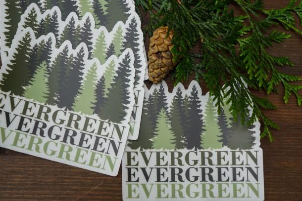 Evergreen Decals
