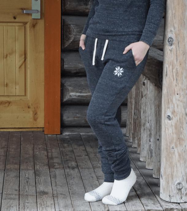 Nordic Snowflake Joggers