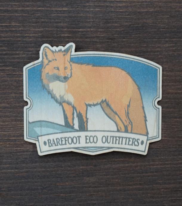 Winter Fox Sticker Product Photo